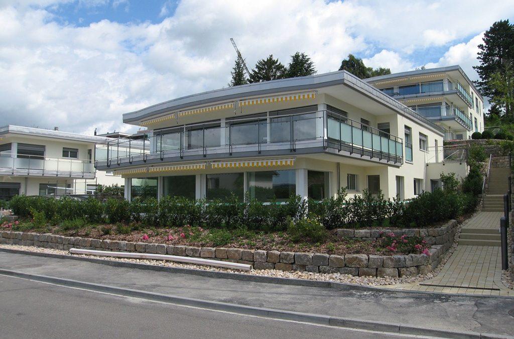 Neubau Terrassenwohnungen