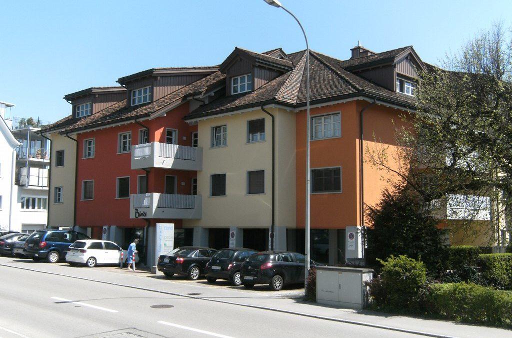 Fassadensanierung Geschäftshaus Bündt, Wil