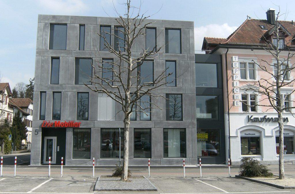 Neubau Geschäftshaus am Bleicheplatz, Wil