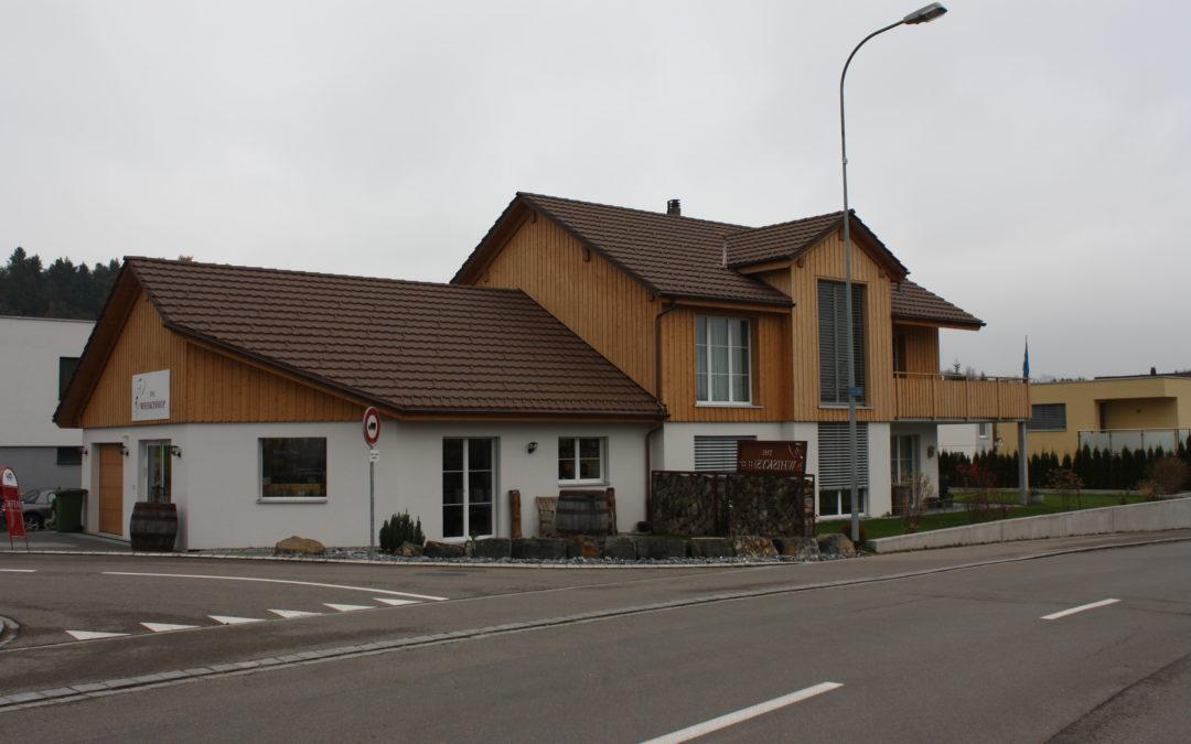 Neubau EFH mit Ladenlokal