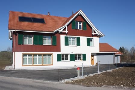 Neubau Retro-Einfamilienhaus, Wiezikon