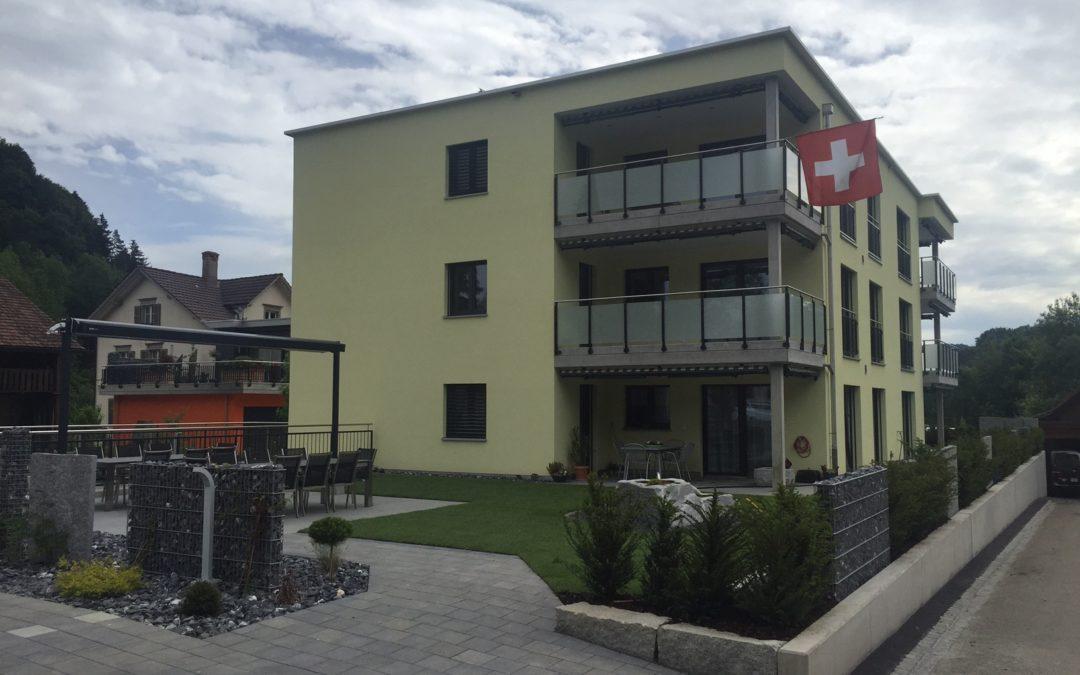 Neubau Mehrfamilienhaus mit Alterswohnungen, Dussnang