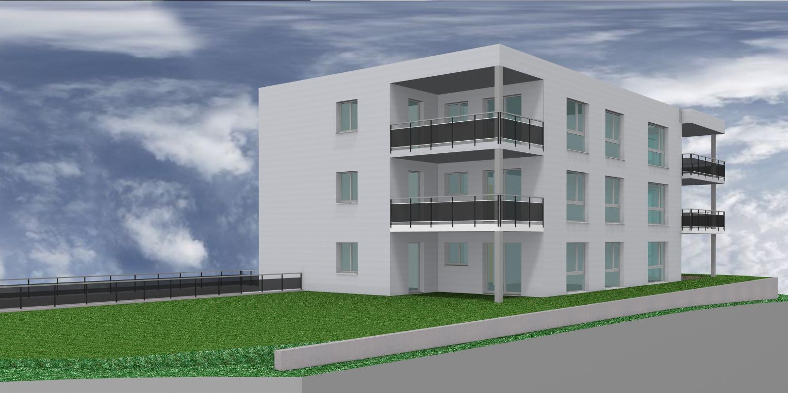 Neubau mehrfamilienhaus mit alterswohnungen dussnang for Mehrfamilienhaus neubau