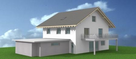 Neubau EFH, Niederhelfenschwil