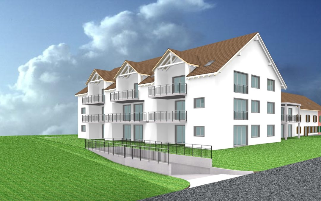 Überbauung mit 11 Eigentumswohnungen im Zentrum von Wängi