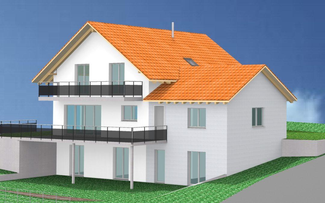 Neubau EFH in Fischingen