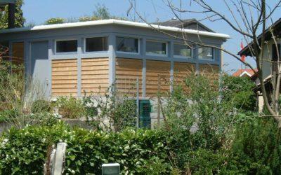 Anbau Garage mit Carport und Geräteraum, Wilen