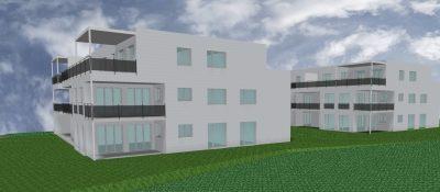Neubau 2 Mehrfamilienhäuser mit Tiefgarage in Hallau