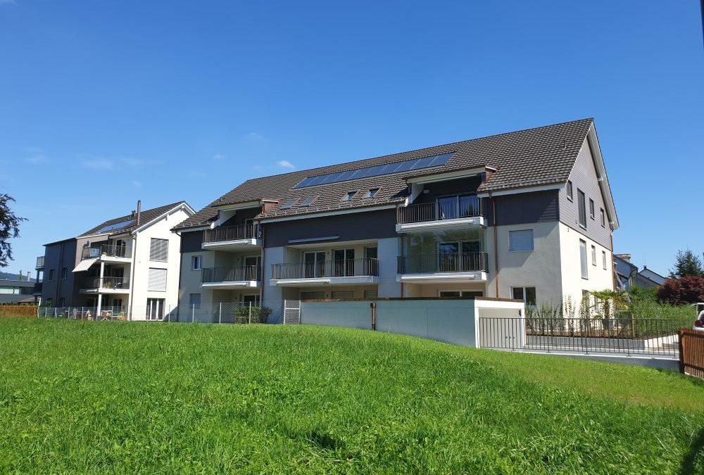 Überbauung mit 16 Eigentumswohnungen im Zentrum von Wängi
